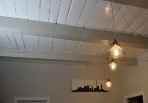 particolare soffitto cantiere rivoli