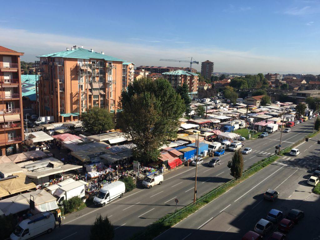 FOTO AEREA Mercato Santa Maria Collegno