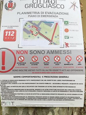 Redazione piano di sicurezza per CLARETTA VILLAGE 2021 GRUGLIASCO